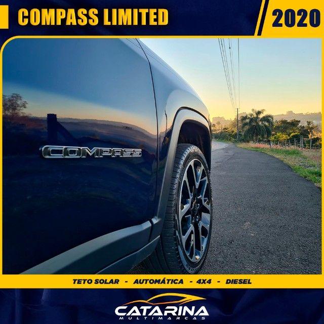 Jeep Compass Limited 2020 com teto  - Foto 9