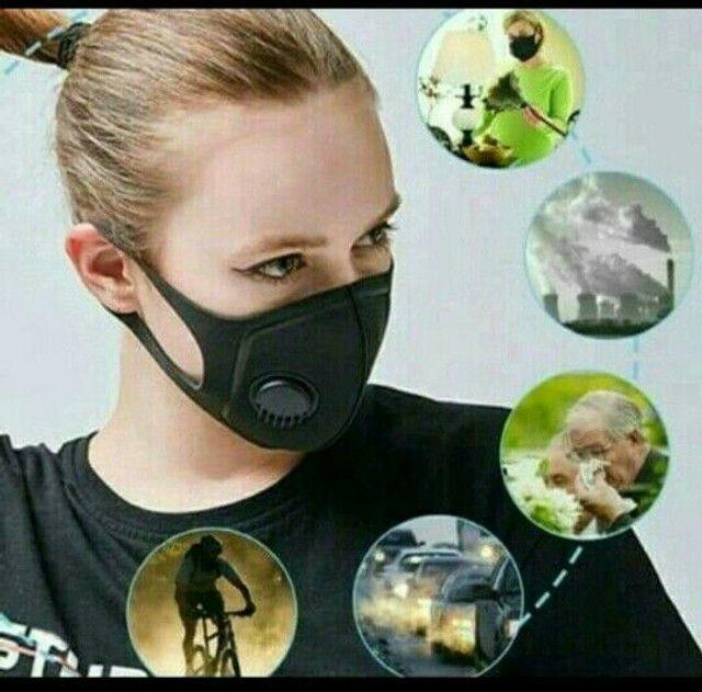 Máscara 5D com filtro
