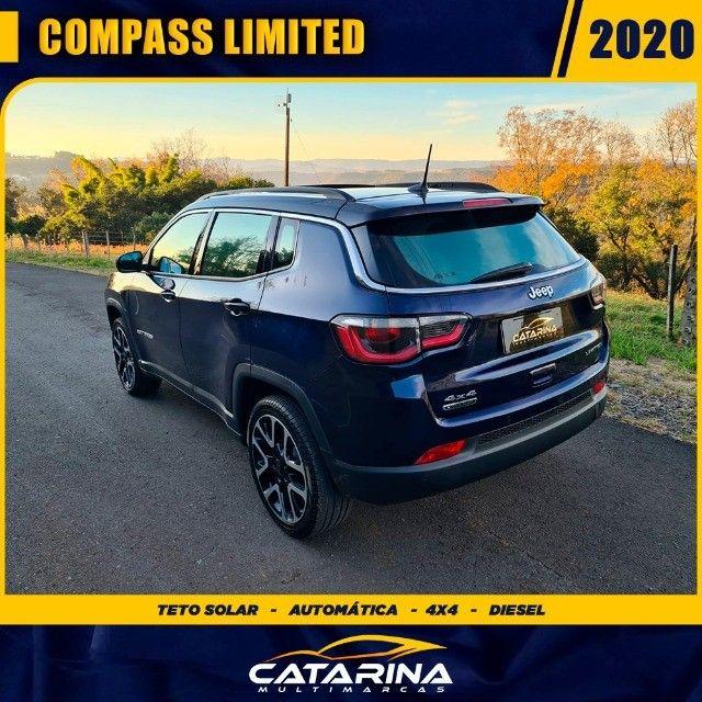 Jeep Compass Limited 2020 com teto  - Foto 3