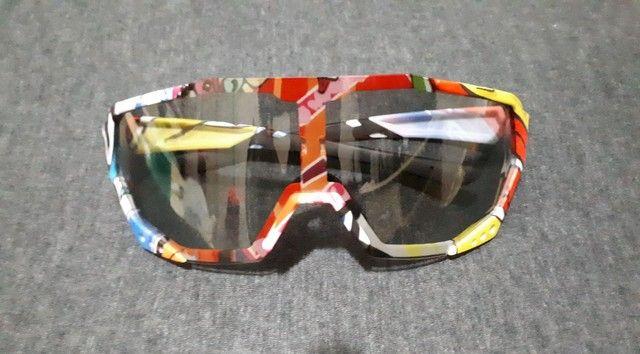 Óculos e Pisca p/ Bike
