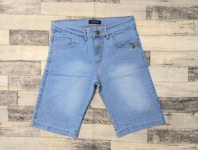 Bermuda Jeans de grife (Produto Novo) - Foto 3