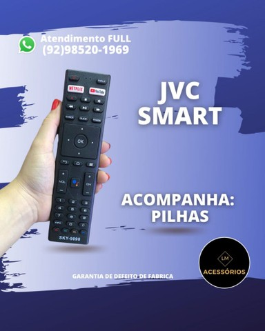 Controle JVC Smart