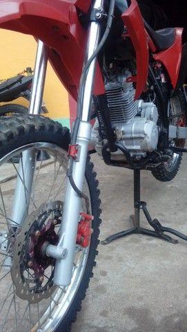 Moto veloterra / trilha CRF 200cc - Foto 9