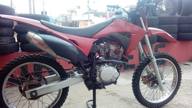 Moto veloterra / trilha CRF 200cc - Foto 2