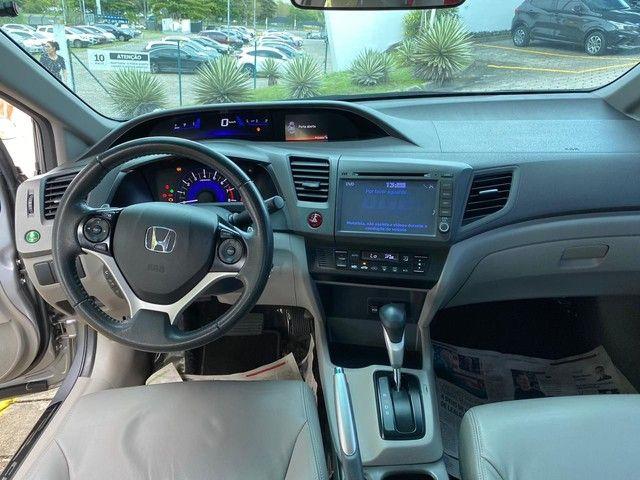 Honda Civic LXR 2.0 Flexone 2014/2014 - 47k km - Foto 6