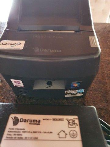 Impressora Térmica, não fiscal Daruma dr800H, semi nova, 500 - Foto 2