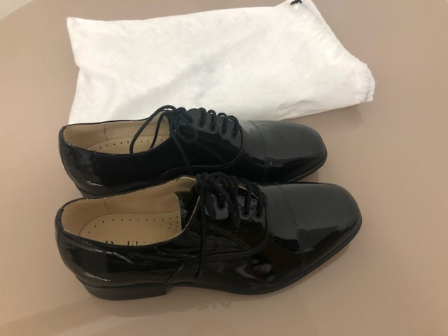 Sapato Social em verniz 38 zerado Pediluvio