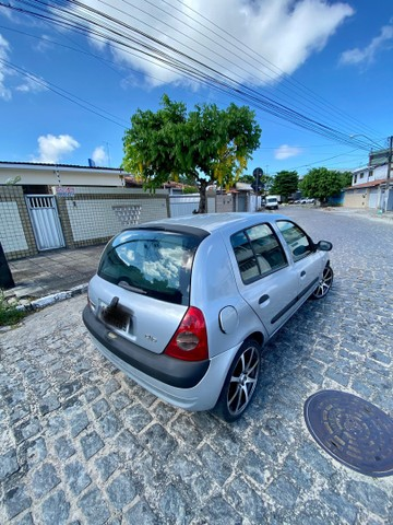 CLIO 2005 COMPLETO PRONTISSIMO PRA USO ( TROCO - VENDO - FINANCIO ATE 60x )  - Foto 4