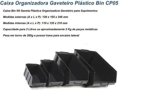 Caixas plastica BIN5 Gaveteiro-modelo 5