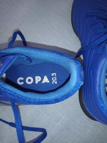 Chuteira Nova - Society Adidas Tamanho 36
