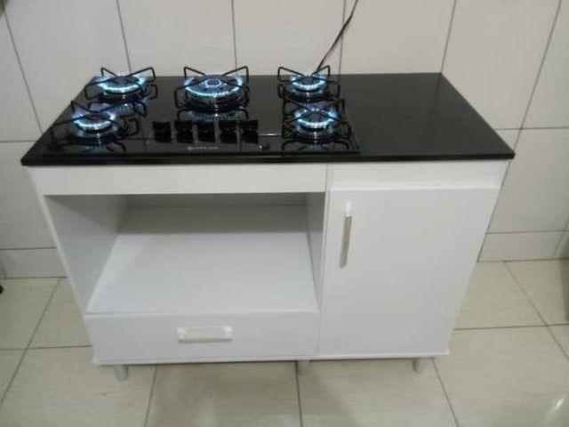 Balcão + cooktop 5bocas + forno Super saldão// entregamos e montamos sem taxas  - Foto 3