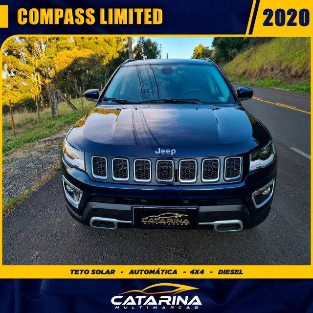 Jeep Compass Limited 2020 com teto  - Foto 4