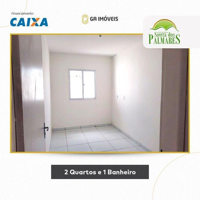Lindas casas novas em Palmares, Pernambuco, 2 quartos, amplo quintal por apenas 130mil! - Foto 5
