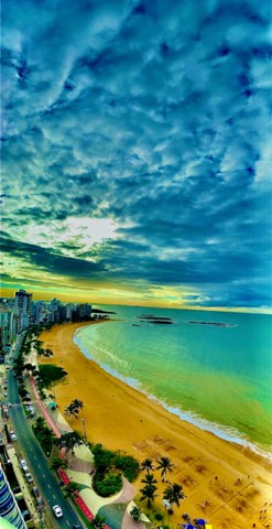 O melhor 2 quartos na Praia da Costa - Amplo e Alto Luxo na Av Gil Veloso - Vista Frontal! - Foto 19