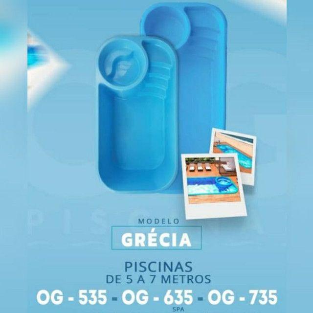 Grécia piscina
