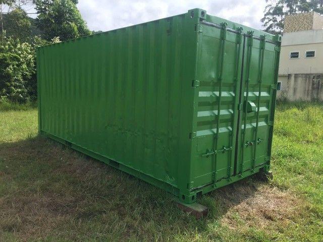 Container 20 pés 6 metros  - Foto 2