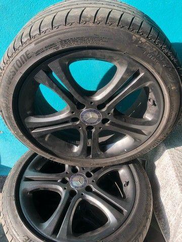 Jogo c 4 rodas p/ Mercedes A200 17, ano 2014+ pneu 225/45 17 - Foto 4