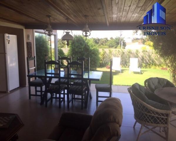Casa à venda alphaville ii salvador, r$ 1.350.000,00, excelente casa térrea com jardim, am - Foto 5