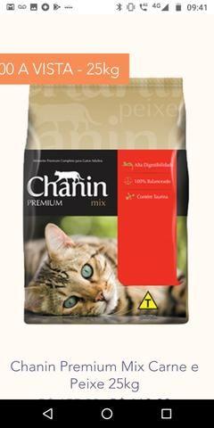 Ração chanin Premium sem corantes 25 kg - Foto 2