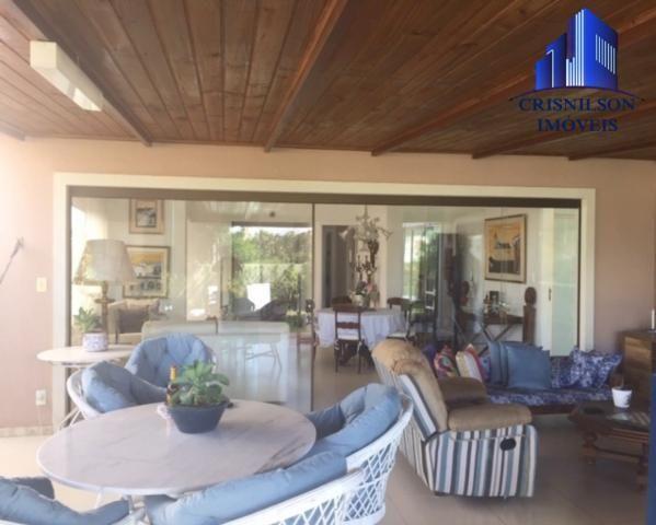 Casa à venda alphaville ii salvador, r$ 1.350.000,00, excelente casa térrea com jardim, am - Foto 11