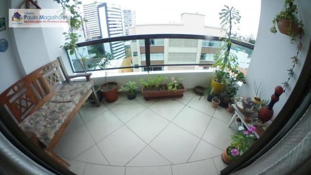 Apartamento com 3 dormitórios à venda, 70 m² - Graça - Salvador/BA - Foto 2