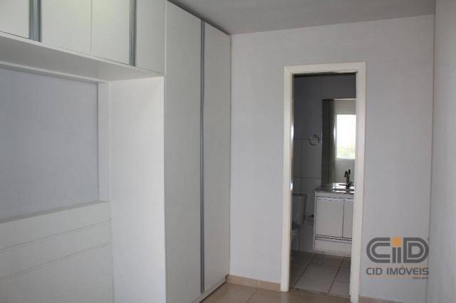 Apartamento duplex com 3 dormitórios para alugar, 108 m² por r$ 1.800/mês - goiabeiras - c - Foto 13