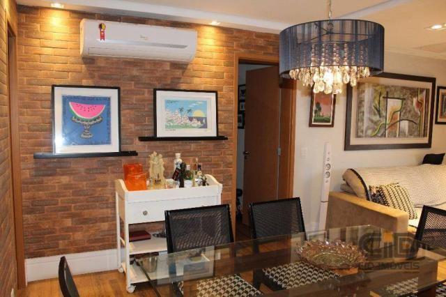 Apartamento com 4 dormitórios à venda, 141 m² por r$ 750.000 - jardim aclimação - cuiabá/m - Foto 2