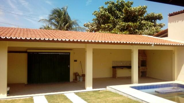 Casa amplo deck piscina 3 suites centro paracuru - Foto 8