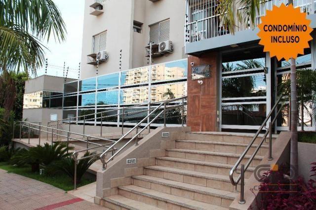 Apartamento com 3 dormitórios à locação , 103 m² por r$ 1.000/mês - bosque da saúde - cuia