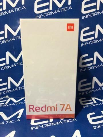 Xiaomi Redmi 7A 32GB (2Gb Ram) Global - Lacrado! com garantia e nota. somos loja