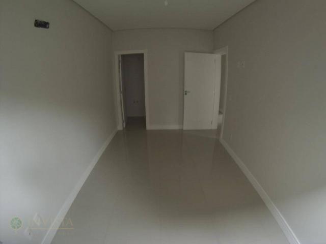 Apartamento novo 3 dormit 3 suítes sacada com churrasqueira - Foto 15