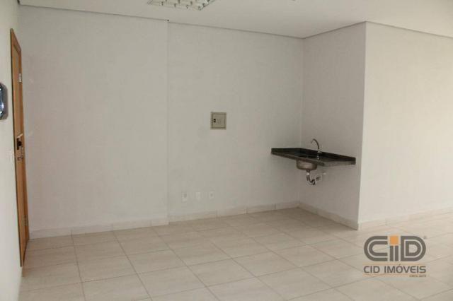 Sala para alugar, 53 m² por r$ 1.800,00/mês - santa rosa - cuiabá/mt - Foto 4
