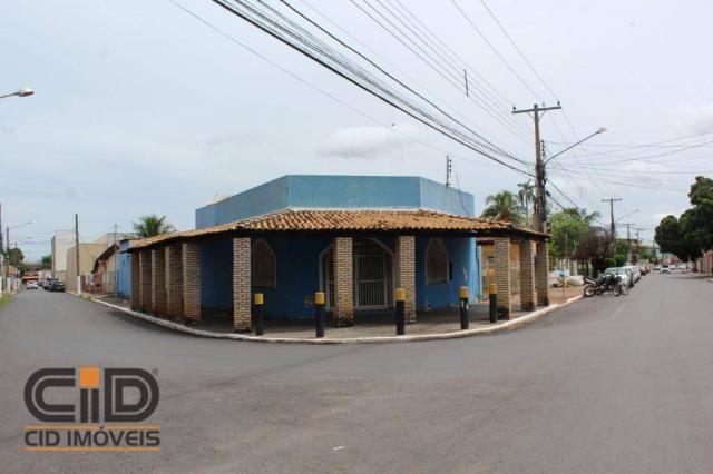 Salão para alugar, 270 m² por r$ 1.400,00/mês - centro norte - várzea grande/mt - Foto 2