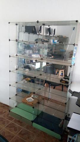 Prateleira Vidro Modular 1,94x1,22x0,20mt - Foto 2