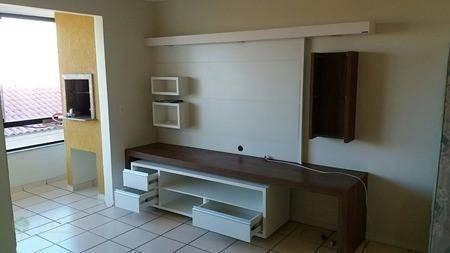 Apartamento com 2 dormitórios, suite uma vaga de garagem na praia dos ingleses. - Foto 2