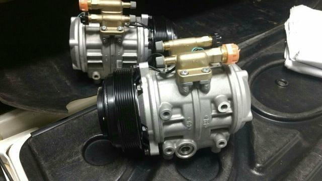 Compressor de ar-condicionado p microônibus V8 Marco polo $1.550
