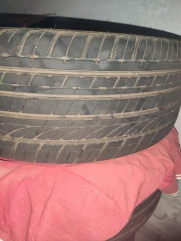 Vendo rodas aro 18 completas pneus zeros valor 3.000  - Foto 2