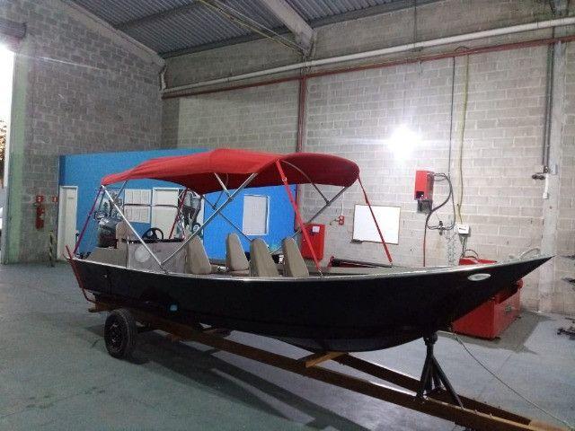 Barcos personalizados para pesca e passeio HF Boats