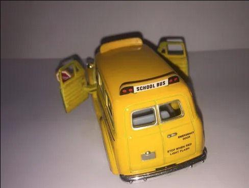 School Bus Americano [onibus Escolar] 1/36 12,5 Cm - Foto 3