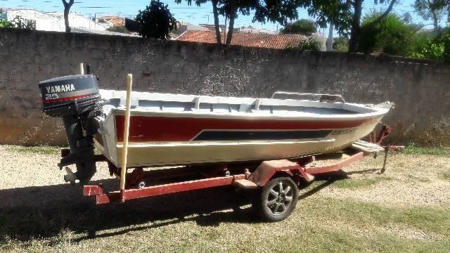 Barco de aluminio 5 metros