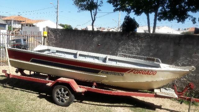 Barco de aluminio 5 metros - Foto 7