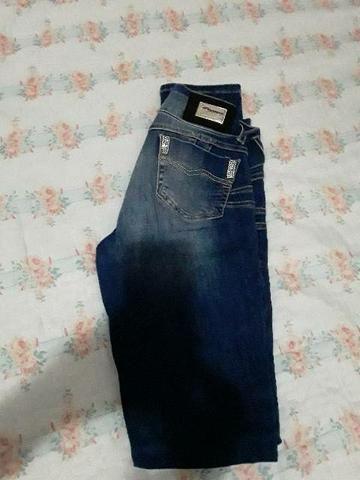 3 Calça jeans número 38 e 1 número 40 nova - Foto 6