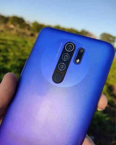 Xiaomi Redmi 9 64gb/4gb Com 6 Meses De Garantia Cor Roxo - Foto 2