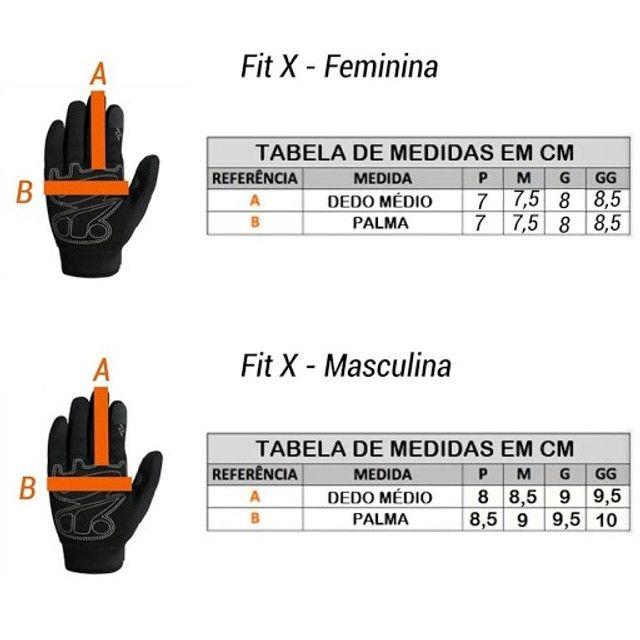 Luva X11 Feminina Fit X Proteção Touch Frio Calor Moto Bike. (Entrega Grátis) - Foto 4