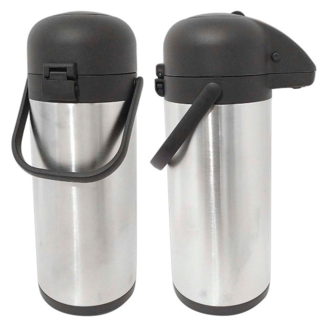 Garrafa Termica Aço Inox 3 Litros Inquebrável Quente e Fria - Foto 5