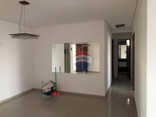 Apartamento com 3 dormitórios para alugar, 122 m² por R$ 2.400,00/mês - Manaíra - João Pes - Foto 4