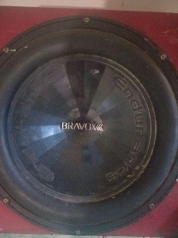 "Subwoof bravox  15"" usado - Foto 2"