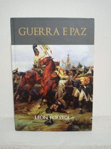 Livro Guerra e Paz - Leon Tolstói