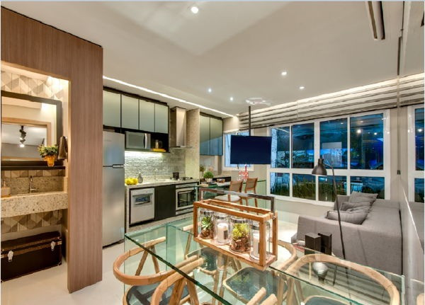 Apartamento 2Q Dot Bueno Residence - Foto 5