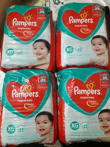 Fralda Pampers sulersec